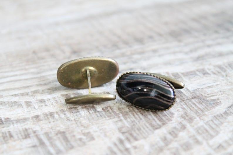 Vintage men/'s cuff links old Cufflinks Soviet Gift for man Men Wedding jewelry Antique cufflinks Retro cufflinks rare jewelry Cuff Links