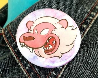 """2"""" Button: JennifiedArt Lion"""