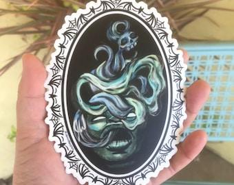Ectoplasm Sticker by Jennified Art