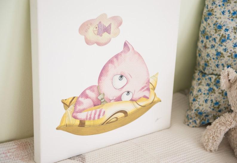 Baby Leinwand Kunst Leinwand für Kinderzimmer Baby Mädchen | Etsy