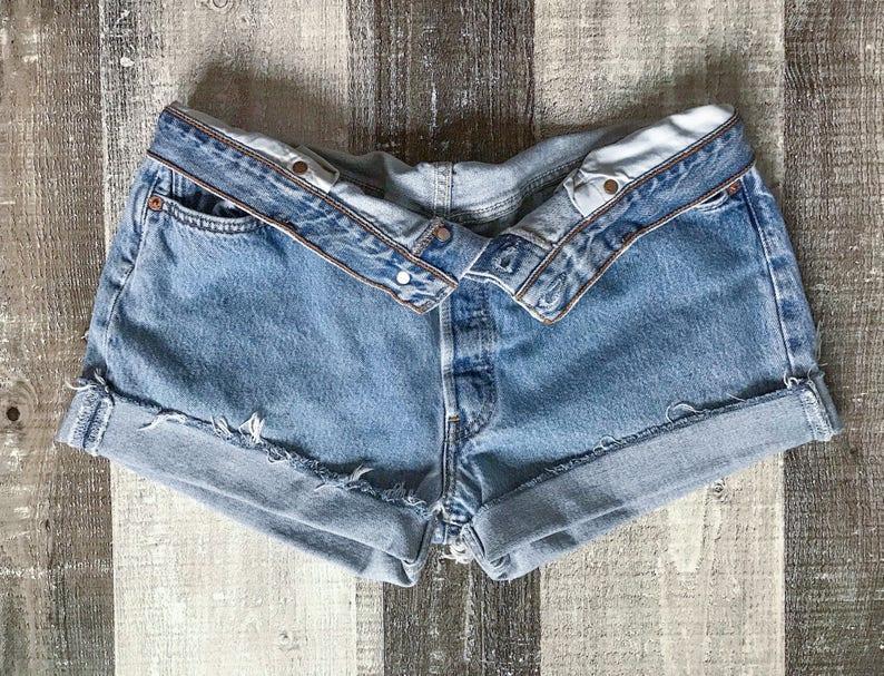 60e5aeda Levi's 501 Shorts High Waist Vintage Levis Cut Off Shorts   Etsy