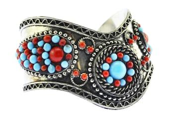 958c4cfa2b63d Vintage Cuff Bracelets | Etsy