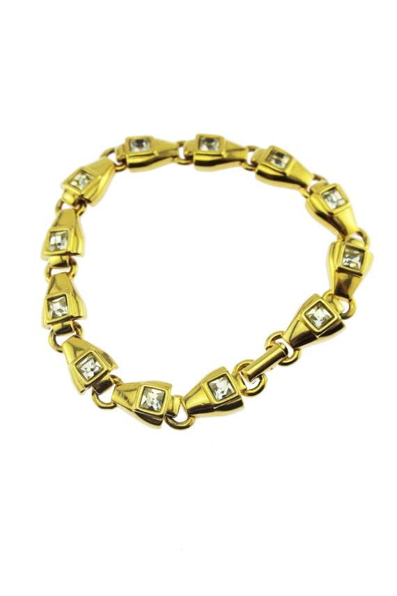 Swarovski Crystal Bracelet, Swarovski Gold Bracele