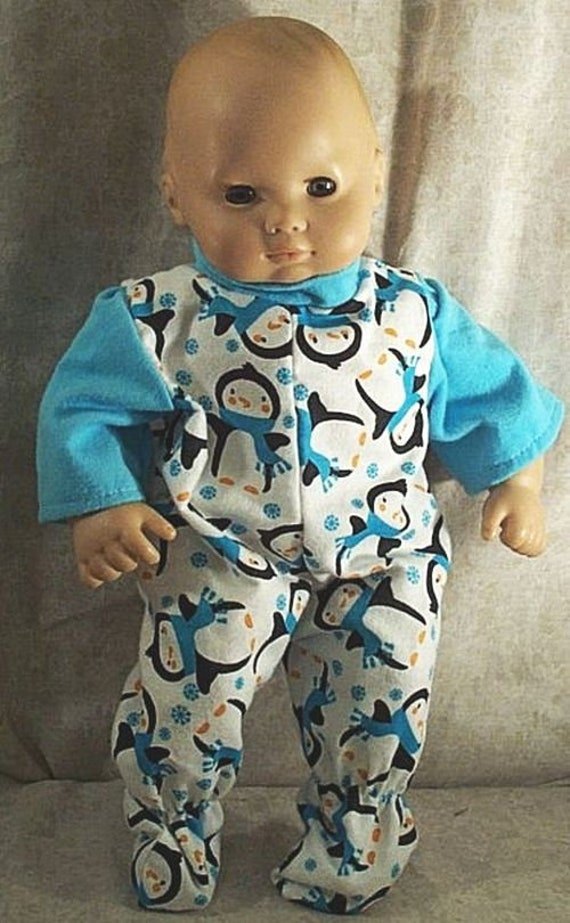 "Doll Clothes Handmade 2 fit American Girl Boy 15"" Summer Romper Trucks Teal New"