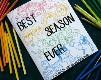 Best Season Ever Coloring book