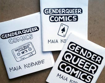 Three Genderqueer Zines