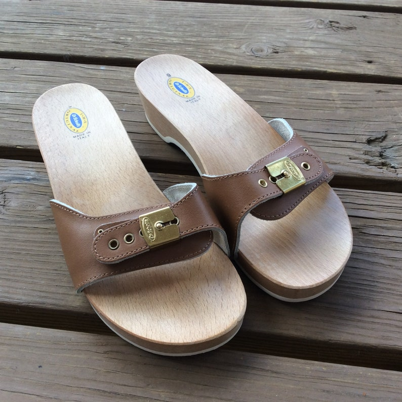 4ce85e0f466 Dr Scholl shoes sandals size 9 old new stock wood soles