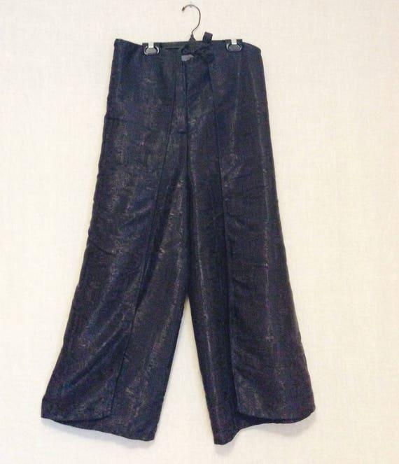 Vintage lounge pants wrap meditation relax size me