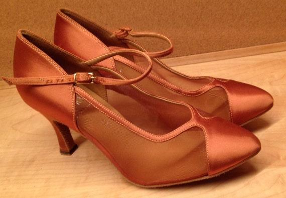 Vintage Dance Shoes Professional Tango Size 6.5 Ne