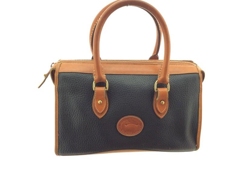 223588661 Vintage Dooney Burke tote bag distressed | Etsy