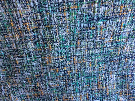 Vintage Retro Mid Century Mcm Panel Upholstery Fabric Multi Etsy,What Colors Go With Light Mint Green