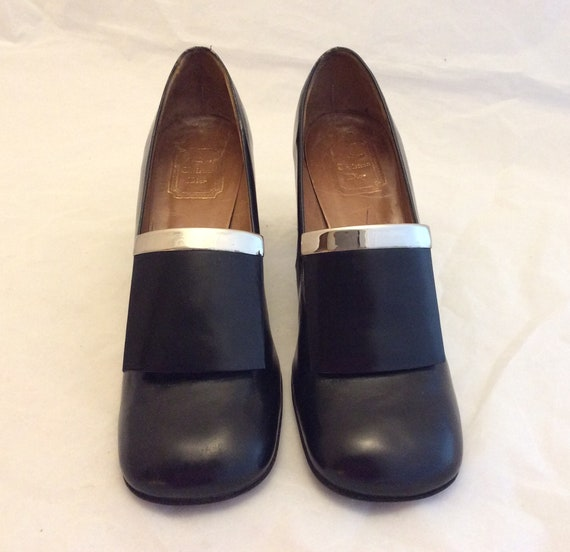 Vintage Christian Dior 60s mod heels shoes pumps s