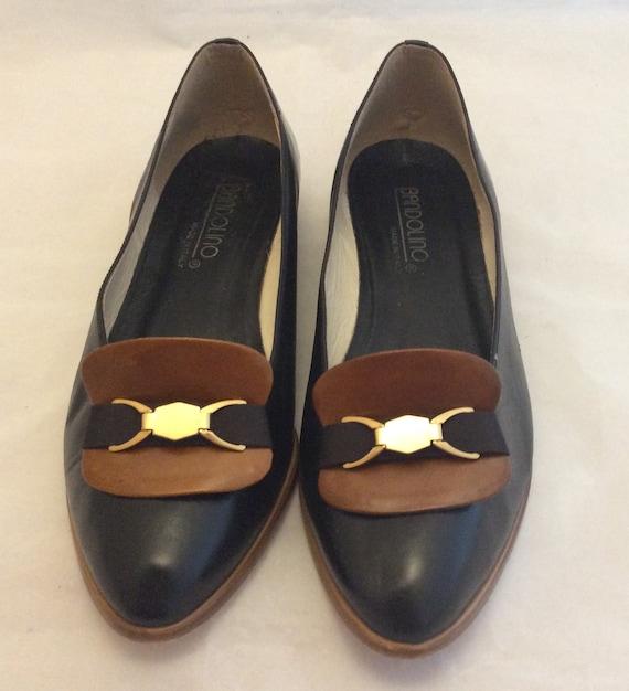 Vintage Bandolino Italian shoes flats ballet walki
