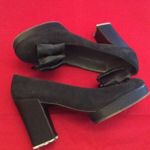 Rare Vintage Christian Dior 50s 60s mod heels shoe
