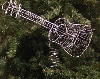 Guitar Tree Topper by A Head Of The Game