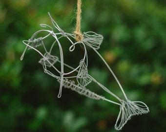 Catfish Wire Ornament