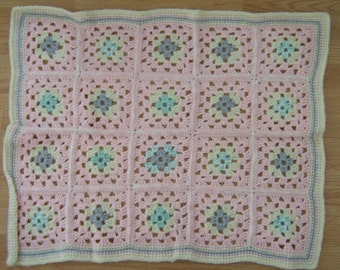 Baby Afghan Granny Square