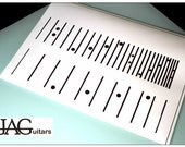 PDF Download to print decal pattern for Danelectro Lapsteel D007