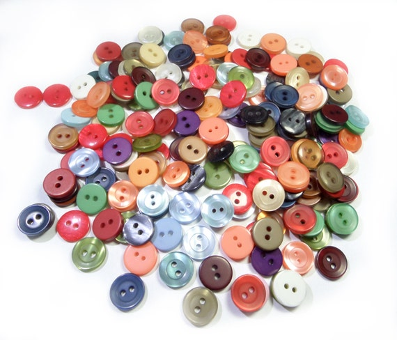 20//100pcs Assorted Wood Christmas Round Buttons Lot 13mm Craft//kids Sewing Cards