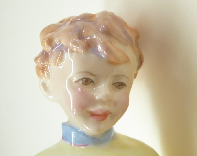 Royal Worcester Figurine OCTOBER. Modelled by Freda Doughty. No. 3417. PRISTINE
