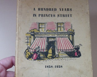 SCOTTISH INTEREST: 1930s Book Issued to Celebrate the Centenary of the Famous Jenner Store on Princes Street, Edinburgh