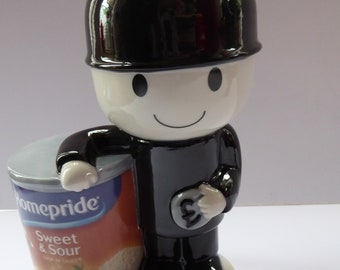 Large CERAMIC Homepride FRED Figurine. Wade (Key Kollectables) Sweet and Sour Sauce Fred Bank or Money Box. Limited edition