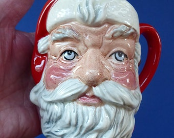Sweet Santa Claus Mug by ROYAL DOULTON. Designed by Michael Abberley in 1982. Pristine Condition