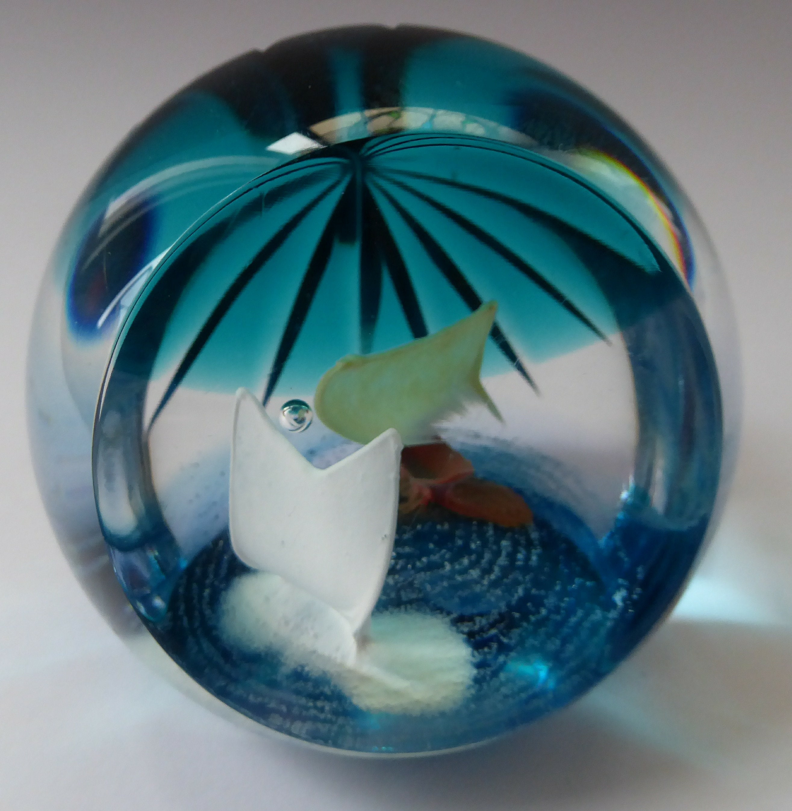 0bcecc6908c CAITHNESS GLASS. Limited Edition Vintage Paperweight. Walking on Water by  Helen MacDonald. Limited Edition of 200