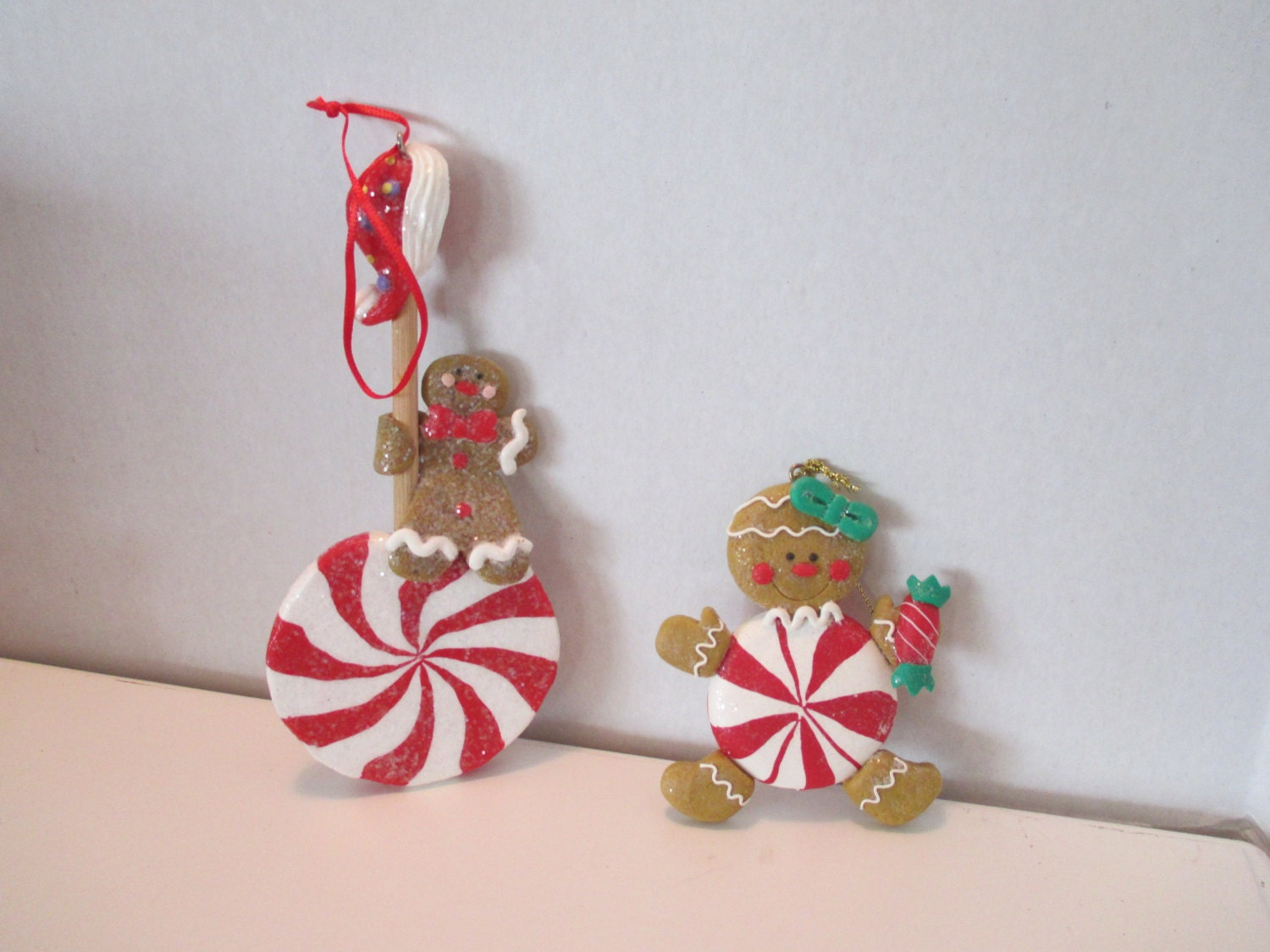 Gingerbread Ornaments, Christmas Ornaments, Gingerbread Collection ...