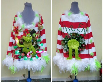 Ugly Sweater Dress Etsy