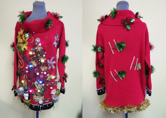 image 0 - Red Ugly Christmas Sweater