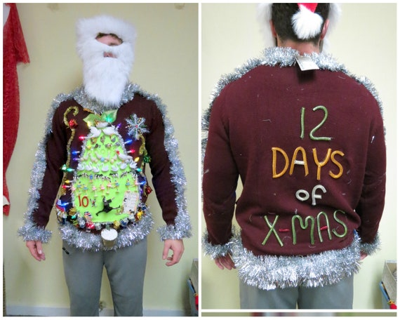 Fabulous Hilarious 12 Days Of Christmas In A Pear Etsy