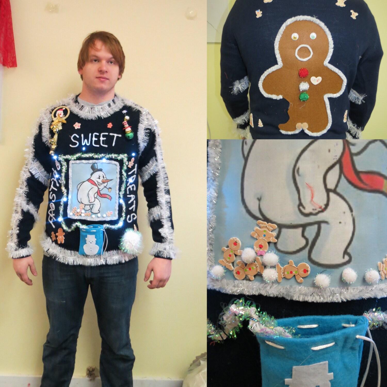 Pullover mit exklusiven Weihnachtsmotiv