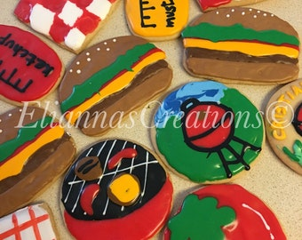 Barbeque Theme Assorted Cookies