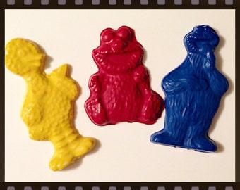 Sesame Street Crayons Set of 3