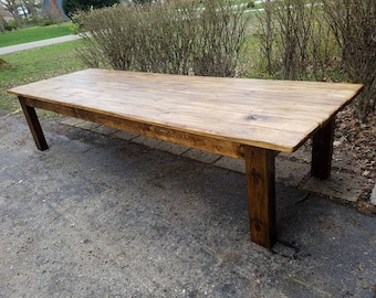 Rustic Dining Table | Etsy