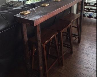 RUSTIC SOFA BAR Table