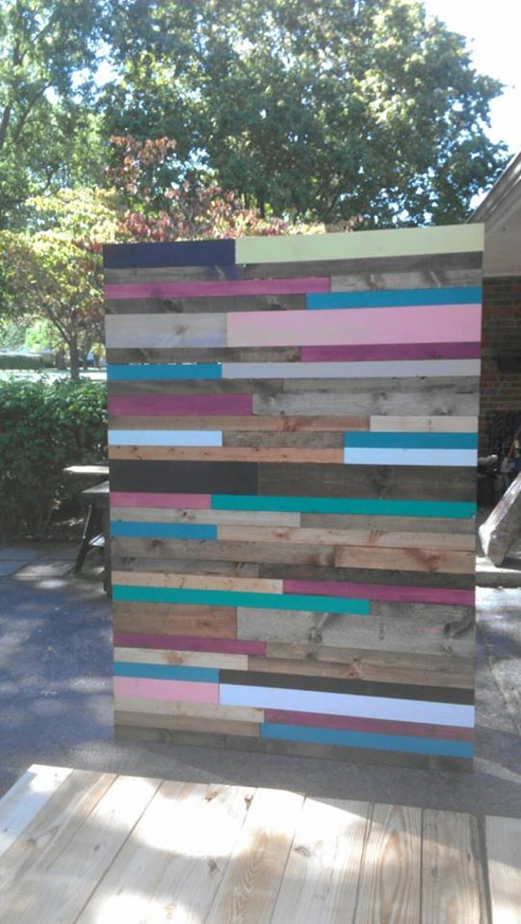 Beautiful Reclaimed Pallet Barn Wood 5-FT x 7-FT WALL Home ...