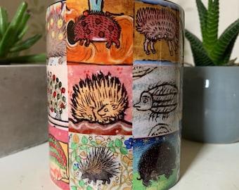 Medieval Hedgehogs Mug