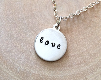 Love Charm Necklace - Personalize Me
