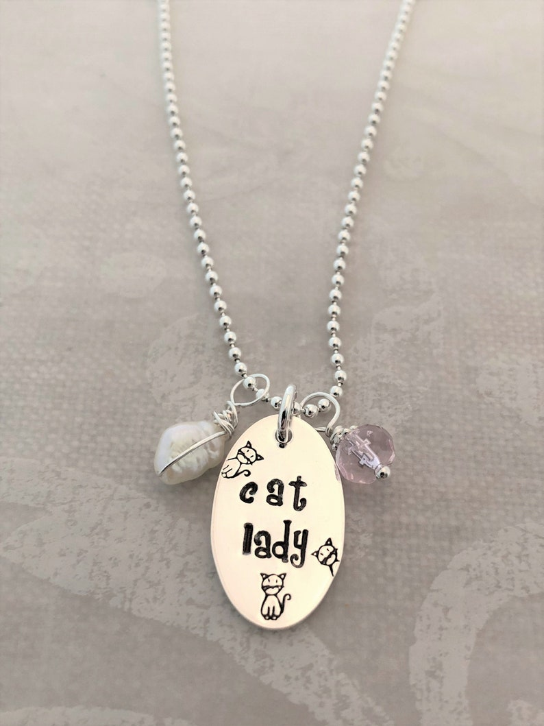 Cat Lady Necklace image 0