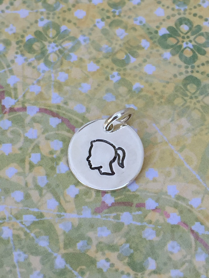 Silhouette Charm  Girl or Boy image 0