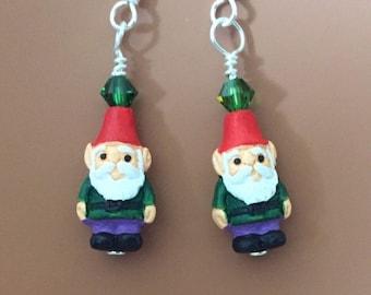 Green Gnome Swarovski Earrings 50a406b452