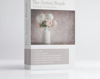 The Artists Brush - Fine Art Painterly Overlay Collection