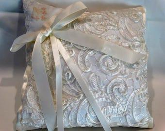 Bridal Ring Bearer Pillow