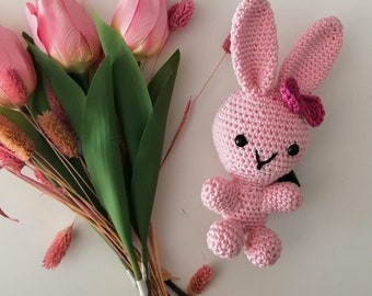 Bunny Amigurumi Crochet Doll
