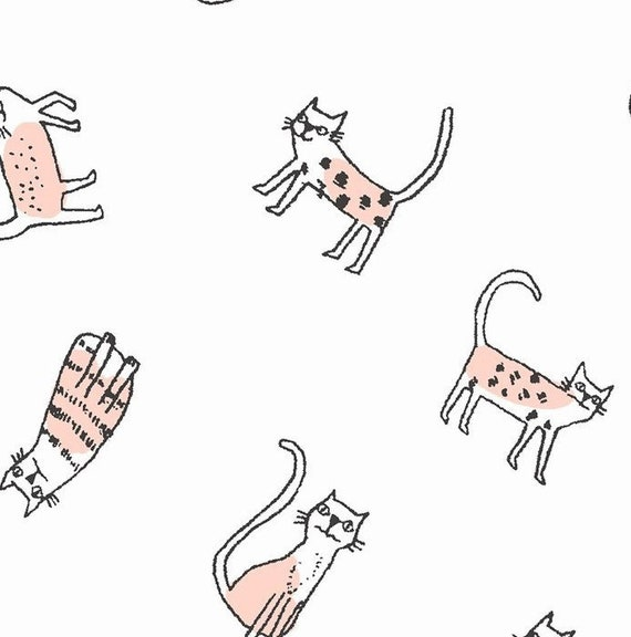 Dear Stella Feline Myself Cheeky Cats Collection 100/% Cotton Patchwork Fabric