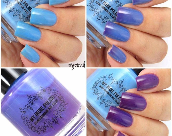 Featured listing image: Solar nail polish - Blueberry martini 15ml Vegan free shipping PREORDER SHIPPING 8/30/19