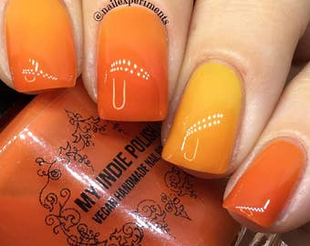 Thermal nail polish - Peak of dawn -