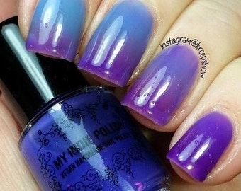 Thermal nail polish - Lavender rain -  5ml